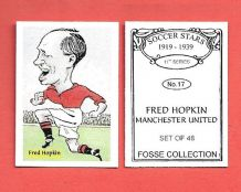 Manchester United Fred Hopkin 17 (FC)